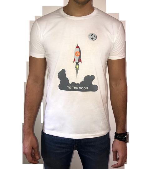 Muška majica - To the moon