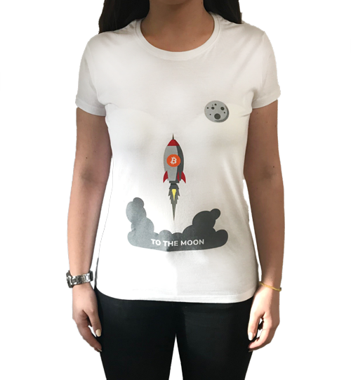 Ženska majica - To the moon