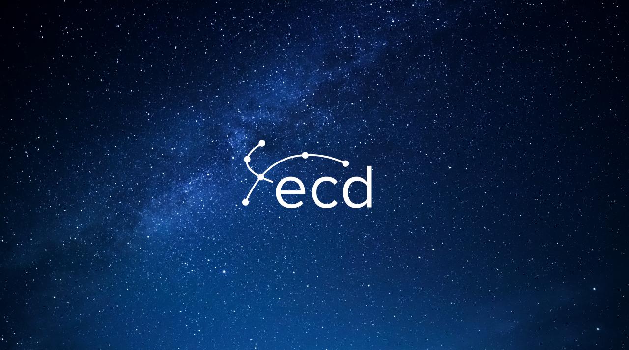 ECD Vizija i Misija