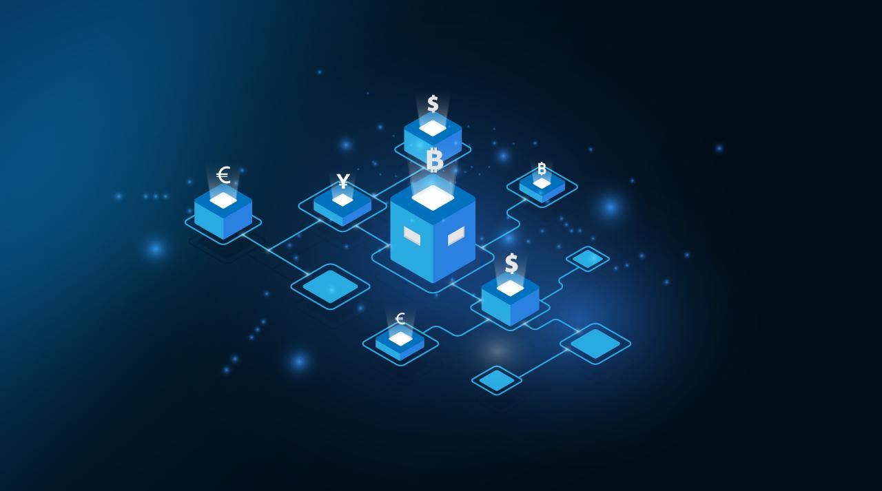 Bitkoin i blokčejn - vizual