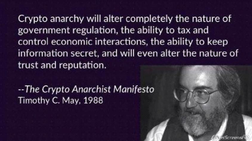 Crypto anarchy manifesto - citat