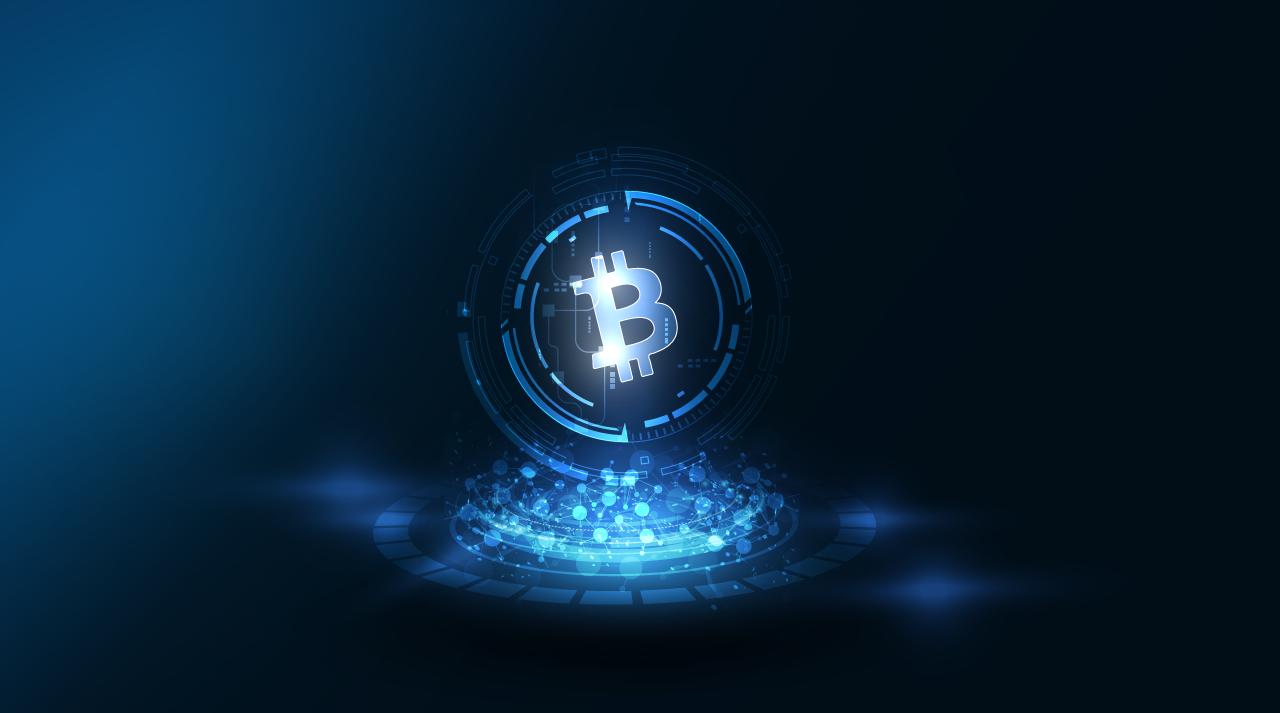 Bitkoin Keš - vizual