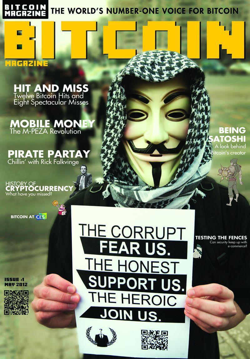 Prvo izdanje Bitkoin magazina