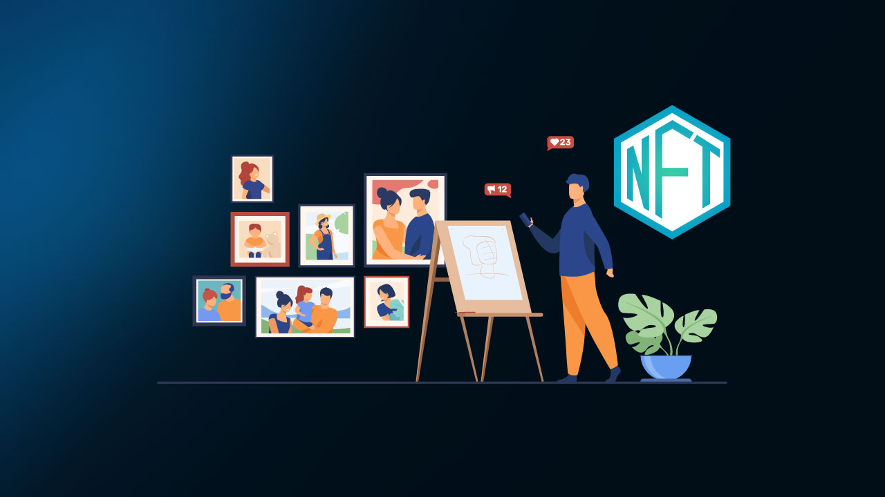 NFT - Vodič za umetnike u 3 laka koraka
